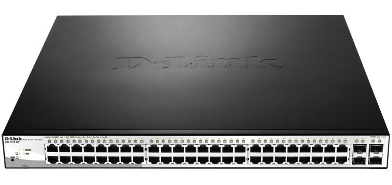 D-link DGS-1210-52P Настраиваемый коммутатор WebSmart с 48 портами