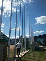 Флагштоки круглоконические 8 метровые