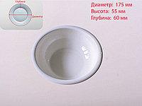 Салатница, белая, D 175 мм , фото 1