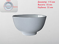 Пиала, белая, D 115 мм , фото 1