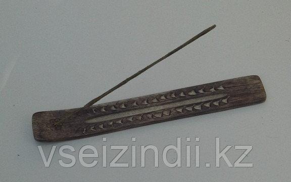 Подставка под благовония, деревянная , цвет коричневый