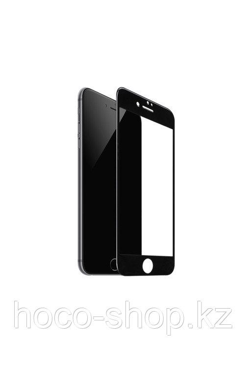 Защитное стекло для iPhone 7 Hoco GH3, чёрное