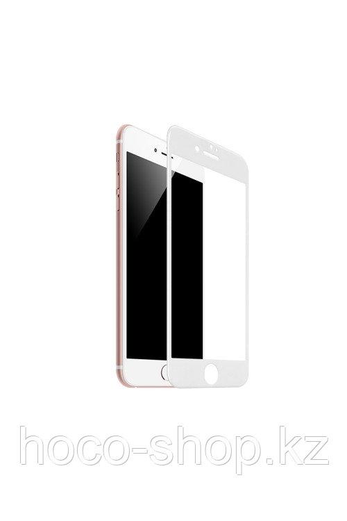 Защитное стекло для iPhone 6/6S Hoco SP2, белое