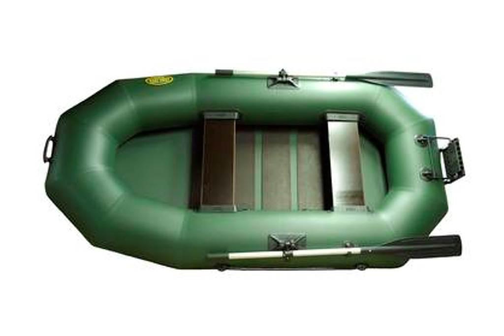 Надувная гребная лодка пвх Гелиос-24