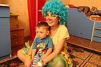 Клоун в Павлодаре