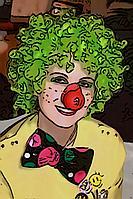 Веселый клоун в Павлодаре, фото 1