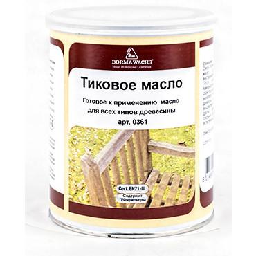 Масло тиковое Borma Teak Oil, 10л