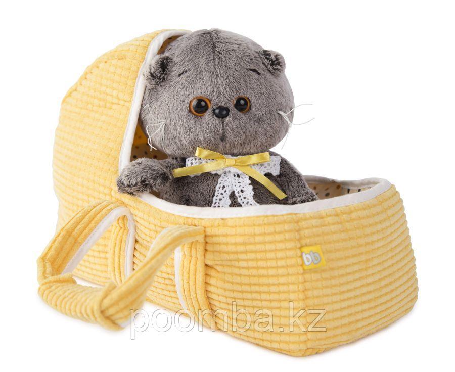 Мягкая игрушка Басик Baby в люльке