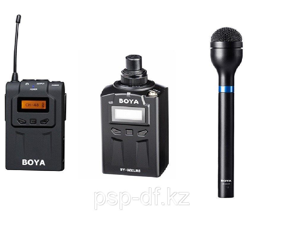 Набор радиомикрофона WM6-K3 (BY-WM6R+BY-WXLR8+BY-HM100)