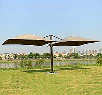 Зонт двойной квадратный (6х3), зеленый, фото 1