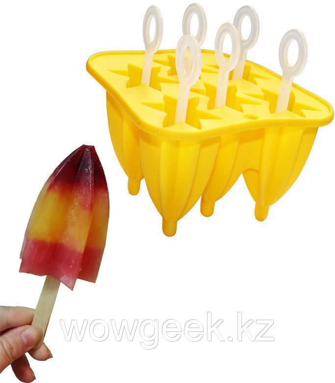Форма силиконовая для мороженого и фруктового льда