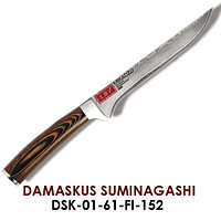 DAMASCUS SUMINAGASHI  Нож филейный