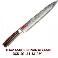 DAMASCUS SUMINAGASHI  Нож разделочный