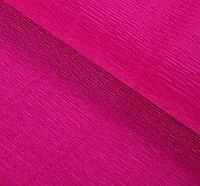 Итальянская Бумага гофрированная 972 фиолетовый цикламен, 50 см х 2,5 м