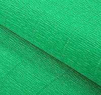 Итальянская Бумага гофрированная 563 зеленая, 50 см х 2,5 м, фото 1