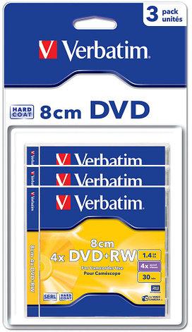 DVD+RW 1.4GB 8cm Verbatim, фото 2
