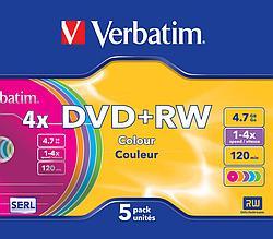 DVD+RW  4X 4.7GB Verbatim