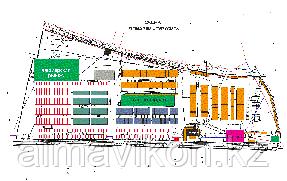 """Универсальный рынок """"ТУРКСИБ"""" нашей компанией была спроектирована и установлен система IP-видеонаблюдения торговой марки TVT"""