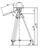 Штатив LIBEC TH-650DV, фото 3