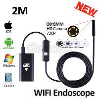 Гибкая WiFi камера эндоскоп YPC-HD 720