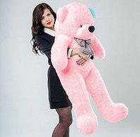 Мишка 140 см розовый