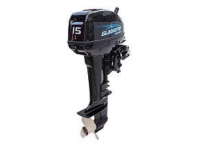 Лодочный мотор GLADIATOR  15лс, фото 2