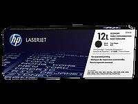 Лазерный картридж HP 12L (Оригинальный, Черный - Black) Q2612L