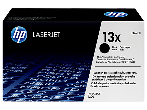 Лазерный картридж HP 13X (Оригинальный, Черный - Black) Q2613X