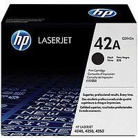 Лазерный картридж HP 42A (Оригинальный, Черный - Black) Q5942A
