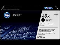 Лазерный картридж HP 49X (Оригинальный, Черный - Black) Q5949X