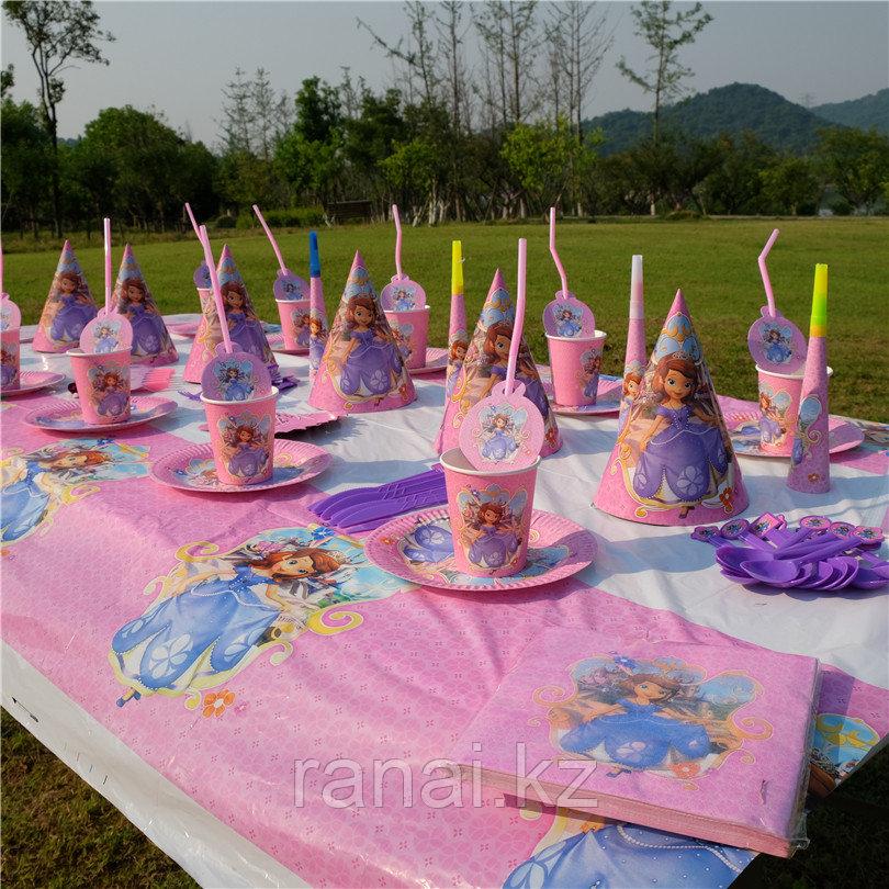 Бумажные тарелки на день рождения