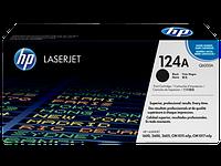 Лазерный картридж HP 124A (Оригинальный, Черный - Black) Q6000A