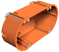 Монтажная коробка для полых стен двойная HG 60 2 / 138x68x50 мм HG 60 2, фото 1