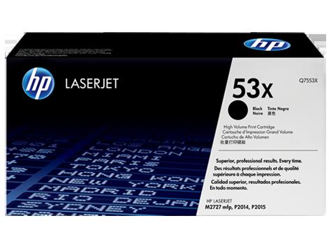 Лазерный картридж HP 53X (Оригинальный, Черный - Black) Q7553X