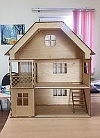 """Деревянный Кукольный домик """"Солнечная усадьба"""""""