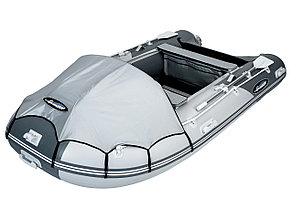 Моторная лодка ПВХ GLADIATOR C 400 DP с фанерным полом