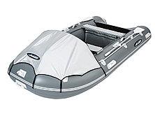 Моторная лодка ПВХ GLADIATOR C 400 DP с фанерным полом, фото 3