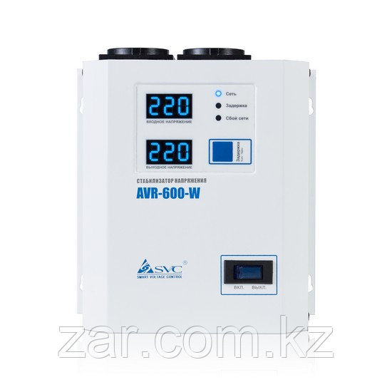 Стабилизатор напряжения 600Вт, SVC AVR-600-W