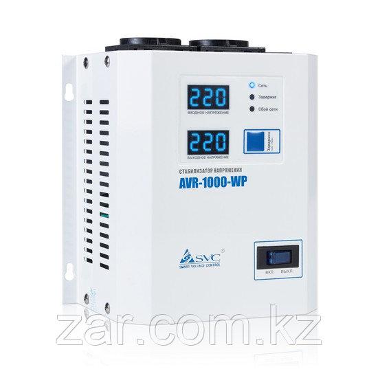 Стабилизатор напряжения 1000Вт, SVC AVR-1000-WP