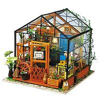 """Домик """"Цветочный Сад"""" с подсветкой и мебелью, фото 1"""