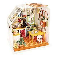 """Домик """"Кухня Джейсона"""" с подсветкой мебелью и аксессуарами"""