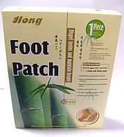 """Пластырь """"Foot Patch"""" 10 шт., токсиновыводящий."""