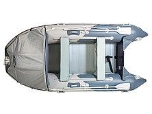 Моторная лодка ПВХ GLADIATOR C 370 AL с алюминиевым полом, фото 3