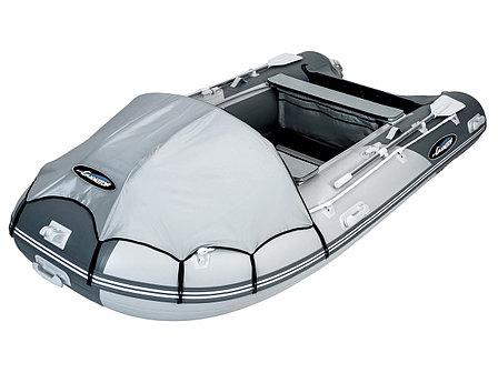 Моторная лодка ПВХ GLADIATOR C 420 DP с фанерным полом, фото 2