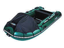 Моторная лодка ПВХ GLADIATOR C 420 DP с фанерным полом, фото 3