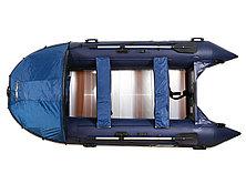 Моторная лодка ПВХ GLADIATOR C 420 AL с алюминиевым полом, фото 2