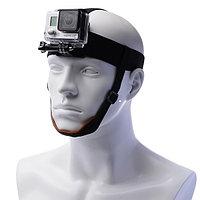 Крепление GoPro на голову с подбородным ремешком, фото 1