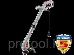 Триммер электрический, ЗУБР ЗТЭ-23-280, с нижним двигателем, ш/с 230 мм, леска 6*1,2 мм, полуавтомат, 280 Вт