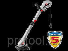 Триммер электрический, ЗУБР ЗТЭ-25-380, с нижним двигателем, ш/с 250 мм, леска 6*1,2 мм, полуавтомат, телескоп