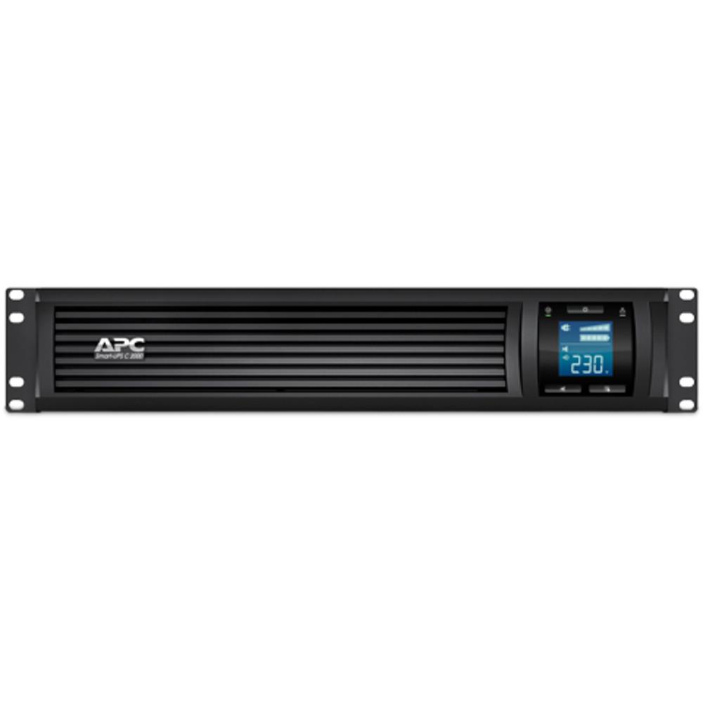 Источник бесперебойного питания APC Smart-UPS SC SMC2000I-2U